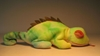 Ty Beanie Baby - Iggy (pale iguana) w tongue Ty, Beanie Baby, Plush, 1997, cute animals