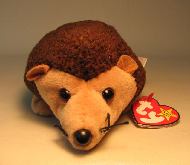 Ty Beanie Baby - Prickles (porcupine) Ty, Beanie Baby, Plush, 1999, cute animals
