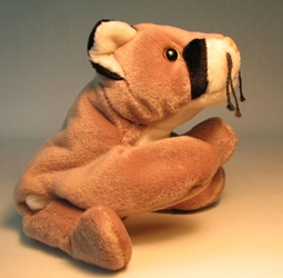 Ty Beanie Baby - Canyon (mtn lion) Ty, Beanie Baby, Plush, 1998, cute animals