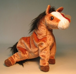 Ty Beanie Baby - Oats (horse) Ty, Beanie Baby, Plush, 2000, cute animals