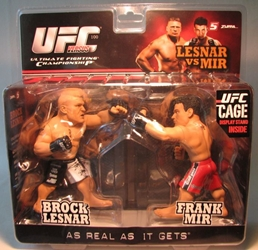UFC Brock Lesnar vs Frank Mir 2-pack Round 5, UFC, Wrestling, 2010, warriors, pro league