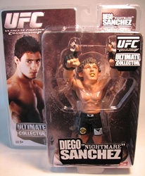 UFC Diego Nightmare Sanchez  6 inch fig Round 5, UFC, Wrestling, 2010, warriors, pro league