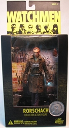 Watchmen Series 1 Rorschach 6.5 inch (unmasked) DC Direct, Watchmen, Action Figures, 2009, scifi, comic book