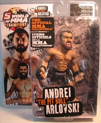 World of MMA Andrei The Pitbull Arlovski 6 inch Round 5, UFC, Wrestling, 2009, warriors, pro league