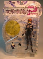 Yamato Ghost in Shell Motoko blk suit - damaged bubble Yamato, Ghost in the Shell, Anime Figures, 2002, scifi, japan