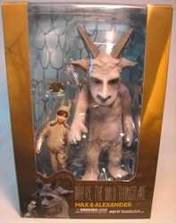 Where The Wild Things Are - Max & Alexander PVC Medicom, Where The Wild Things Are, Action Figures, 2009, fantasy, movie