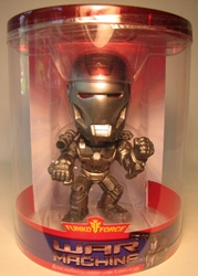 Funko Force Iron Man 2 War Machine 6 inch wobbler Funko, Iron Man, Bobble-Heads, 2010, scifi, movie