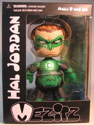 Mezco Mez-itz Green Lantern Hal Jordan 6 inch Mezco, Green Lantern, Action Figures, 2010, scifi, movie