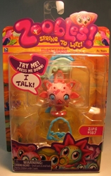 Zoobles 2 inch pet #157 Talking Zip Spin Master, Zoobles, Littlest Pet Shop, 2011, cute animals