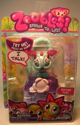 Zoobles 2 inch pet #381 Talking Ramos Spin Master, Zoobles, Action Figures, 2011, cute animals