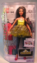 Barbie 12 inch Stardoll (yellow dress)