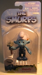 Smurfs - 2.5 inch figure - Handy Jakks, Smurfs, Action Figures, 2011, animated, cartoon, movie