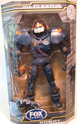 Fox Sports 10 inch Robot NCAA Illinois Foam Fanatics, Fox Sports, Action Figures, 2008, sports, pro league