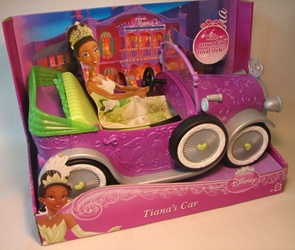 Disney Princess - Tiana`s Car (for 12 inch doll)