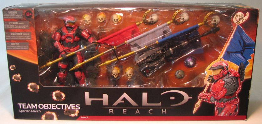 McFarlane Halo Reach Team Objectives Spartan Mark V Set McFarlane, Halo, Action Figures, 2012, scifi, video game