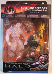 McFarlane Halo Reach Covenant Elite & Grunt Spec Ops McFarlane, Halo, Action Figures, 2011, scifi, video game