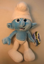 Smurfs 10 inch plush - Clumsy Jakks, Smurfs, Action Figures, 2011, animated, cartoon, movie