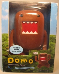 Domo 6 inch flocked vinyl figure (brown) Dark Horse, Domo, Action Figures, 2008, kidfare, commercial
