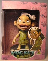Atomfreak Studios Pocket Zombies 6 inch vinyl - Apple Atomfreak Studios, Pocket Zombies, Action Figures, 2009, horror, halloween, art