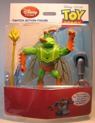 Toy Story Twitch Figure Disney, Toy Story, Action Figures, 2011, animated, movie