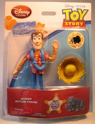Toy Story Hawaiian Vacation Woody Figure Disney, Toy Story, Action Figures, 2011, animated, movie
