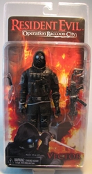 NECA Resident Evil Operation Racoon City 7 inch Vector NECA, Resident Evil, Action Figures, 2012, scifi, horror, video game