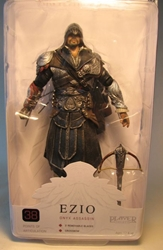 NECA Assassins Creed Brotherhood 7 inch Ezio Onyx Assassin NECA, Assassins Creed, Action Figures, 2012, warriors, video game