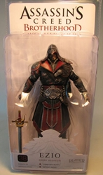 NECA Assassins Creed Brotherhood 7 inch Ezio Ebony Assassin NECA, Assassins Creed, Action Figures, 2012, warriors, video game