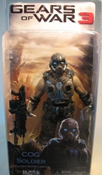 Gears of War 3 NECA 7 inch COG Soldier NECA, Gears of War, Action Figures, 2012, scifi, video game