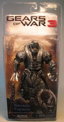 Gears of War 3 NECA 7 inch Savage Theron (unmasked) NECA, Gears of War, Action Figures, 2012, scifi, video game