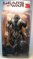 Gears of War 3 NECA 7 inch Savage Theron (masked) NECA, Gears of War, Action Figures, 2012, scifi, video game