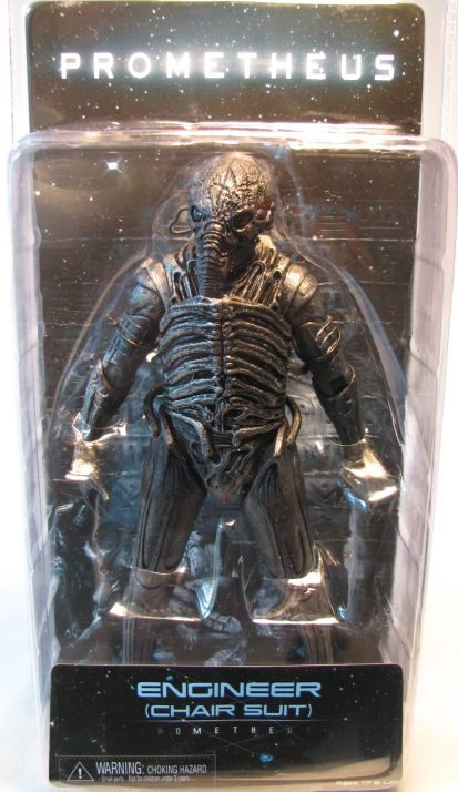 NECA Prometheus 8 inch figure - Engineer (chair suit) (dark) NECA, Prometheus, Action Figures, 2012, scifi, movie