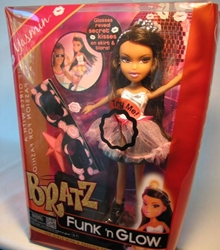 Bratz Funk n Glow doll - Yasmin MGA, Bratz, Dolls, 2012, fashion, toy