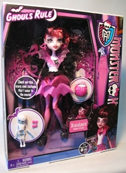 Monster High Ghouls Rule Draculaura Mattel, Monster High, Dolls, 2012, teen, fashion, movie