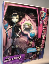 Monster High Ghouls Rule Frankie Stein Mattel, Monster High, Dolls, 2012, teen, fashion, movie