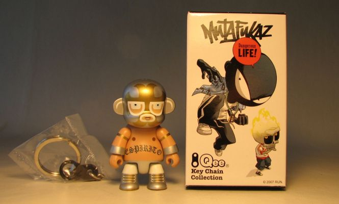 Mutafukaz 2.5 inch Qee Espirito Toy2R, Qee, Action Figures, 2007, collectible