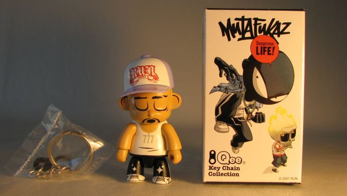 Mutafukaz 2.5 inch Qee Run Toy2R, Qee, Action Figures, 2007, collectible