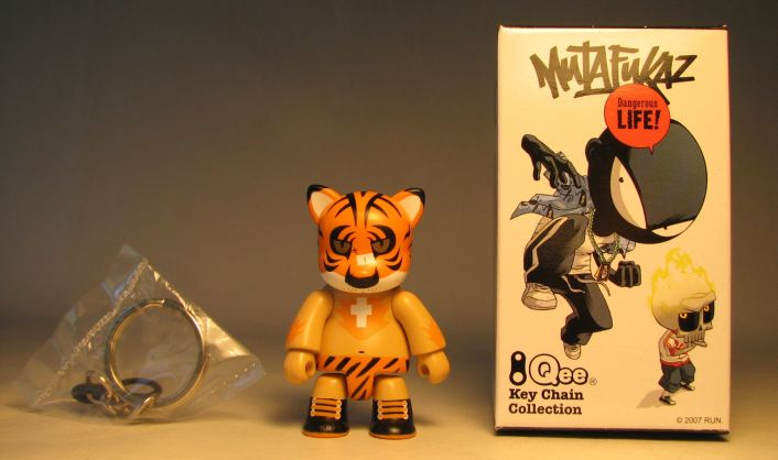 Mutafukaz 2.5 inch Qee Tigre Toy2R, Qee, Action Figures, 2007, collectible