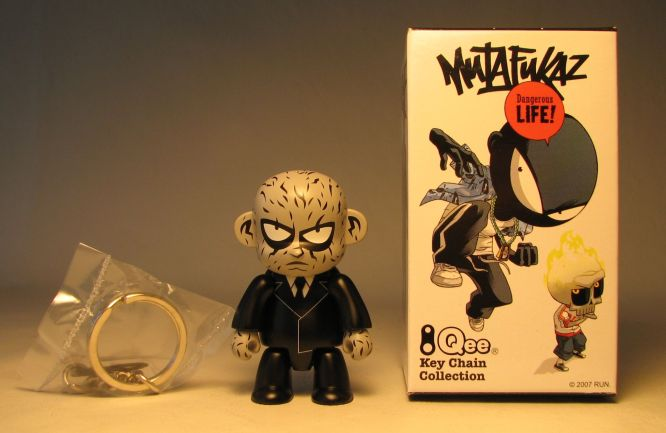 Mutafukaz 2.5 inch Qee Mister K Toy2R, Qee, Action Figures, 2007, collectible