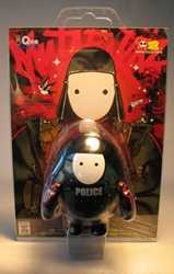 Mutafukaz 2.5 inch Qee Z7 Trooper carded Toy2R, Qee, Action Figures, 2007, collectible