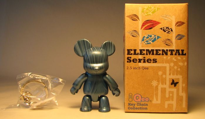 Toy2R Qee 2.5 inch Elemental Series (wood blue) Toy2R, Qee, Action Figures, 2010, collectible