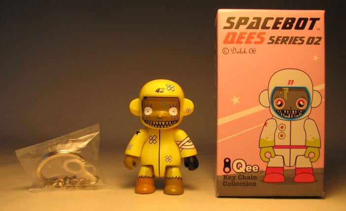 Dalek Series 2 Spacebot 2.5 inch Qee 43 Yellow
