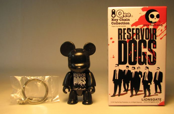 Reservoir Dogs 2.5 inch Qee Black Bear Toy2R, Reservoir Dogs, Action Figures, 2009, crime, movie