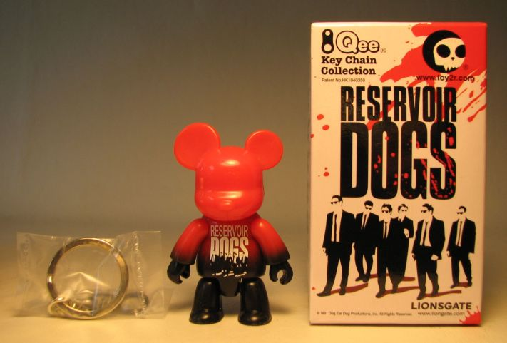 Reservoir Dogs 2.5 inch Qee Angry Red Bear Toy2R, Reservoir Dogs, Action Figures, 2009, crime, movie