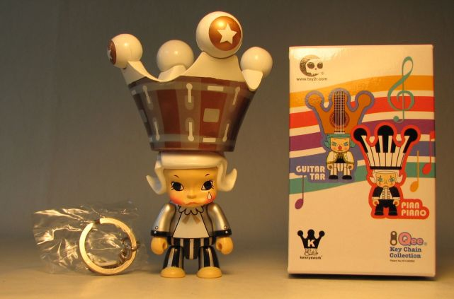 Toy2R Molly Qee 2.5 inch Drum Drum Silver & Copper Toy2R, Qee, Action Figures, 2008, collectible
