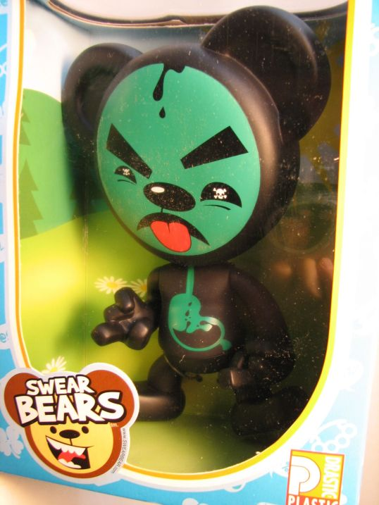 Swear Bears 6 inch vinyl Poisoned Bear - 5990-5998CCCVGG