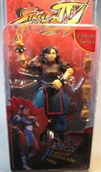 NECA Street Fighter IV 6 inch Figure Chun-Li NECA, Street Fighter, Action Figures, 2009, warriors, video game