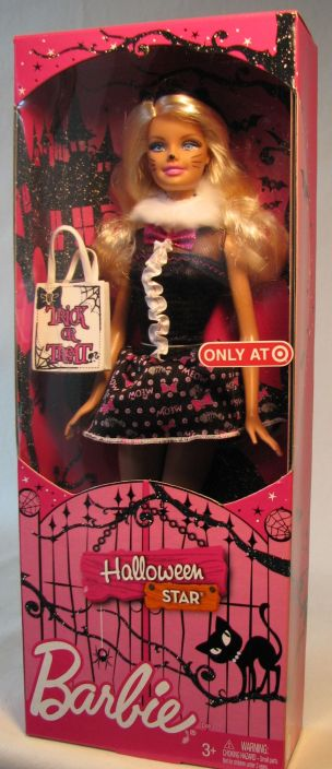 Barbie 12 inch Doll Halloween Star Mattel, Barbie, Dolls, 2011, fashion, toy