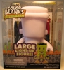 RoseArt Color Blanks Large Light-up Franken-Blank Mega Brands, Color Blanks, Action Figures, 2010, vinyl