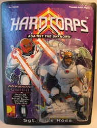 Drastic Plastic Hard Corps Figure Sgt Mike Ross 4.75 inch Drastic Plastic, Hard Corps, Scifi, 1994, scifi, comic book